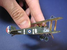 Paper Model - Tutorial Sopwith Camel - scratch - escala 1/100