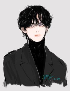 Character Art, Anime Drawings Boy, Taehyung Fanart, Korean Art, Art, Boy Art, Fan Art, Aesthetic Anime, Aesthetic Art
