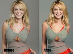 You always found celebrities in gorgeous and sexy look in print media, thanks to Photoshop. Don't miss celebrities before & after Photoshop. Photoshop Fail, Photoshop Photos, Photoshop Tutorial, Photoshop Celebrities, Before And After Photoshop, Celebrities Before And After, Ugly To Pretty, Raw Photo, M Photos