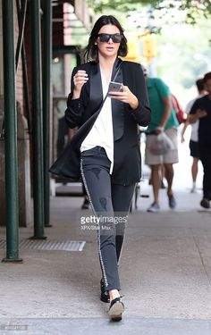 Kendall Jenner is seen on August 30, 2015 in New York City.