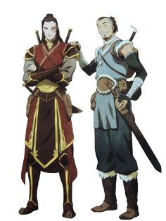 sokka and zuko