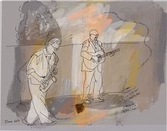The street musicians no.3 by ilanagraf on Etsy