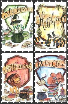 Slytherin, Hufflepuff, Gryffindor y Ravenclaw - Harry Potter - . - Slytherin, Hufflepuff, Gryffindor y Ravenclaw – Harry Potter – - Harry Potter Film, Harry Potter Fan Art, Harry Potter Anime, Magia Harry Potter, Estilo Harry Potter, Harry Potter Thema, Classe Harry Potter, Mundo Harry Potter, Cute Harry Potter