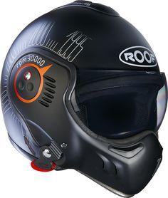 Buy helmet convertible ROOF Boxer Target blanc integral jet moto NEW helmet at online store Chopper Helmets, Full Face Motorcycle Helmets, Custom Motorcycle Helmets, Full Face Helmets, Motorcycle Leather, Bike Helmets, Boxer, Cool Masks, Motorcycle Helmets