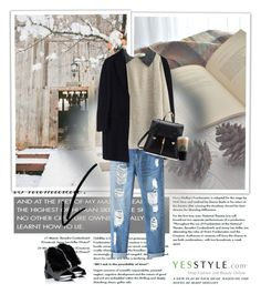 """YesStyle 3"" by mary-turic ❤ liked on Polyvore featuring MSGM, Fairyland, Lane172, BeiBaoBao, Christmas, yesstyle and winteressentials"