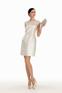 b6648bdf7bba Luisa Spagnoli firma una nuova collezione di abiti da cerimonia - Style.it  Special Day