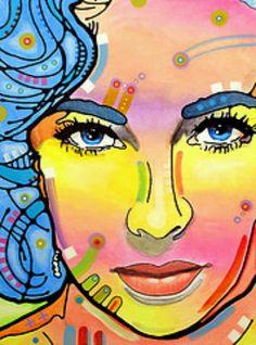 Elizabeth Liz Taylor Pop Art