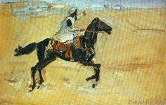 Max Slevogt - Arabs on horseback
