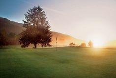 Der Golfplatz Zell am See für 18 Loch Golf spielen.