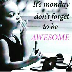 Happy Monday beauties!