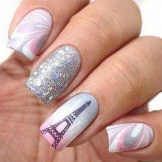 trendy nail Art ideas for summer 2016