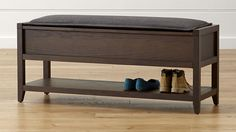 Dearborne Storage Bench with Cushion | Crate and Barrel - $470