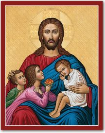 Let the children come to Me icon