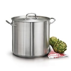 Tramontina ProLine 24 Qt Stainless Steel Covered Stock Pot >>> Continue to the product at the affiliate link Amazon.com.