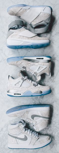 "Air Jordan ""Laser"" Pack: 1, IV & XX (Officially Unveiled)"