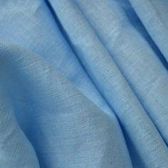 100% Leinen Stoff aus Frankreich mit weichem Griff - Hellenisches Blau - Breite: 137 cm (Meterware): Amazon.de: Küche & Haushalt