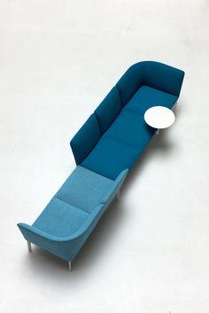 Sectional sofa by Francesco Rota for Lapalma Modular Furniture, Modular Sofa, Sofa Furniture, Office Furniture, Modern Furniture, Furniture Design, Lobby Furniture, Library Furniture, Deco Furniture
