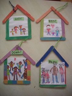 This week, our unit is homes and family – I have found a few crafts that I think the children will enjoy. The one I posted below is fun because they actually get to create a home out of popsi…