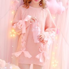 Sweet Crossband knitting sweater SE10774      Coupon code #cutekawaii for 10% off