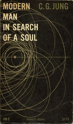 Modern Man in Search of a Soul, book cover, circa 1955 / Design: Erik Nitsche