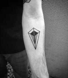 100x100 Tattoo: Geometric tattoos, 40 ejemplos de tatuajes geométricos