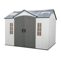 Lifetime, 10 ft. x 8 ft. Outdoor Garden Shed, 60005 at The Home Depot - Mobile