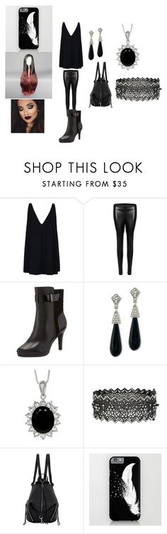 """Night falls with gravity the earth turns from sanity"" by puppy-love8569 ❤ liked on Polyvore featuring STELLA McCARTNEY, Elie Tahari, Kenneth Jay Lane and Rebecca Minkoff"
