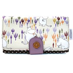 Moomin Wallet: Moomin Flora Pouch Bag, Pouches, Critters 3, Moomin Valley, Japanese Gifts, Tove Jansson, Little Critter, Yearning, Cute Characters