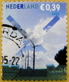 Netherland € 0.39 39c windmill postzegel Nederland selo sello timbre postes-timbre Briefmarke Holland Niederlande 39c cent Pays-Bas Países Bajos Paesi Bassi