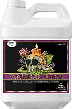 Voodoo Juice is an exclusive proprietary blend of eight microbial super strains that pump up your roots and root zone so you get faster growth healthier plants and more valuable yields. Voodoo Juice...