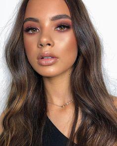 Best Natural Makeup Look For Brown Skin - Hair and Beauty - Make up Makeup Inspo, Makeup Hacks, Makeup Inspiration, Makeup Ideas, Makeup Goals, Makeup Tutorials, Beauty Make-up, Beauty Hacks, Hair Beauty