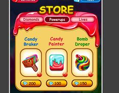 "Check out new work on my @Behance portfolio: ""Toony Game ShopScreen"" http://be.net/gallery/52896693/Toony-Game-ShopScreen"