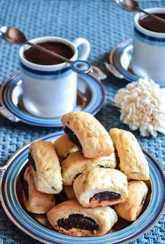 Egyptian Date Cookies, recipe from Beram & Tajine E-Magazine: http://issuu.com/beramandtajine/docs/issue2
