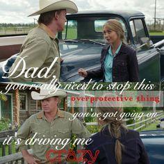 Tim is always overprotective