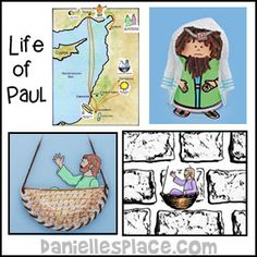 Paul Bible Crafts and Activities for Children's Ministry