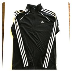 Adidas Clima365 Half zip Track Jacket Banana Republic A-Line Boiled Wool Black Skirt. Size Medium. Adidas Jackets & Coats