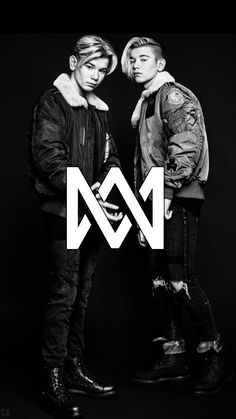 Marcus and Martinus Logo❤️❤️ Marcus Y Martinus, Celebrity Singers, I Go Crazy, Cute Twins, Perfect Boy, M Wallpaper, Pretty Wallpapers, Diy For Girls, Kawaii Girl