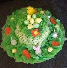 (Hoppy Easter) Handmade Easter Bonnet Hat boys / girls