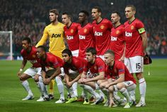 Manchester united 2012-2013 squad wallpaper   Manchester Real Madrid Manchester United, Manchester United Football, Uefa Champions, Champions League, Man Utd News, Man Of The Match, 1 Real, Soccer Match, Old Trafford