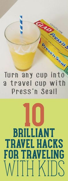 10 Brilliant Travel Hacks For Traveling With Kids - we take a lot of road trips with our kids, and some of these would be really helpful!!
