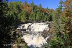 The Chutes de Plaisance (Plaisance Falls; not to be confused with Chutes de la Chaudiere near Quebec City) was a wide and powerful series of cascades. Canada, Waterfalls, Past, River, Mountains, World, Nature, Fall Of Man, Past Tense