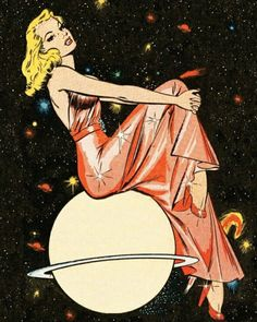 Lingerie Astrology: What Your Sign Says About Your Boudoir Style Venus May Illustration by Bill Everett.Venus May Illustration by Bill Everett. Art And Illustration, Vintage Illustrations, Black Swan Ballet, Comic Kunst, Comic Art, Inspiration Art, Art Inspo, Psychedelic Art, Pop Art Vintage