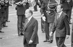 Mitterrand et Rocard