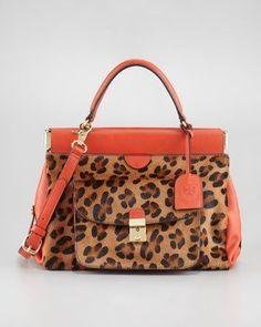 "Tory Burch ""Priscilla"" frame satchel...LOVE!"