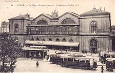 C'est la #gare #Montparnasse...oui mais ds les années 20... Environnement différent... #Paris #tourisme #sncf #ratp