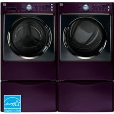purple washer/dryer-yes, please