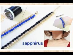 How To Single St. Petersburg Stitch Jewelry Making DIY Tutorial - Lessons With O. Jewelry Making Tutorials, Beading Tutorials, Handmade Bracelets, Handmade Jewelry, Beaded Jewelry, Beaded Bracelets, Crochet Bracelet, Bracelet Tutorial, Diy Necklace