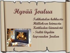 Tulostettava joulukortti-pohja ruskea Happy Day, Gift Tags, Christmas Cards, Miniatures, Words, Gifts, Finland, Stamps, Christmas E Cards
