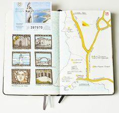 Comment faire un carnet de voyage ? Nos idées inspirantes ! - Kitchen Trotter
