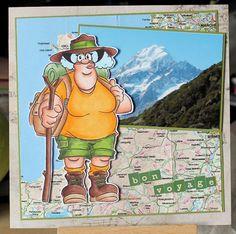 """Faldaree Deirdery"" digi stamp http://www.doctor-digi.com/faldaree-deirdery Card by Ruth C http://weirdcatcardsnstuff.blogspot.co.uk/"